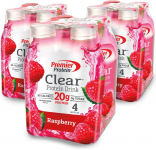 LIMITED TIME DEAL!!! Premier Protein Clear Protein Drink, Raspberry $15.39 (REG $28.99)