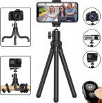 LIGHTNING DEAL!!! Tripod Adjustable Camera Stand Holder with Wireless Remote $10.79 (REG $14.99)