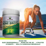 Hydrolyzed Bone Broth + Collagen Protein Peptides Powder by Peak Performance $33.95 (REG $69.99)