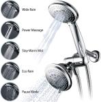 Hydroluxe 1433 Handheld Showerhead & Rain Shower Combo$24.99 (REG $54.99)