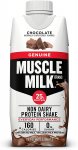 Muscle Milk Genuine Protein Shake, Chocolate, 25g Protein, 11 FL OZ, 12 Count $9.28 (REG $13.28)