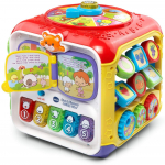 VTech Sort and Discover Activity Cube, Red $16.79 (REG $29.18)
