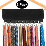 DOIOWN Belt Hangers 2 Pack Tie, Scarf Organizer Hangers Hook Rack$10.99 (REG $29.99)