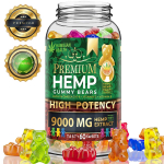 LIMITED TIME DEAL!!! Hemp Gummies Premium 9000MG High Potency $19.42 (REG $43.50)