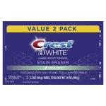 Crest 3D White Stain Eraser Whitening Toothpaste, Fresh Mint, 2 Count$4.99 (REG $11.99)