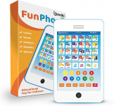 Learning Pad / Kids Phone with 6 Toddler Learning Games. $14.99 (REG $29.99)
