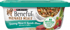 Purina Beneful Prepared Meals Adult Wet Dog Food – (8) 10 oz. Tubs $8.62 (REG $15.12)