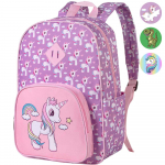 Preschool Backpack Girls, 15″ Unicorn Kindergarten Backpacks $15.99 (REG $29.99)