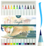 MozArt Supplies Brush Pens Set – 12 Colors $9.99 (REG $19.99)