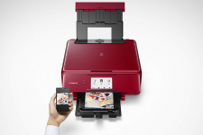 Canon TS8120 Wireless All-in-One Printer w/ Scanner and Copier $54.99 (REG $179.99)