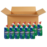 Clorox Toilet Bowl Cleaner with Bleach, Fresh Scent – 24 Ounces $26.57 (REG $45.72)