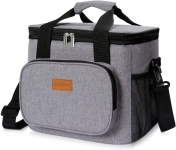 Lifewit Large Lunch Bag Insulated Lunch Box Soft Cooler Cooling Tote $13.59 (REG $39.99)