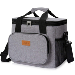 Lifewit Large Lunch Bag Insulated Lunch Box Soft Cooler Cooling Tote $19.99 (REG $39.99)