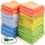 Best Microfiber Cleaning Cloths – Pack of 50 Towels $15.99 (REG $32.00)