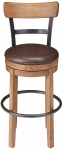 Ashley Furniture Signature Design Pinnadel Swivel Bar Stool $92.00 (REG $195.31)
