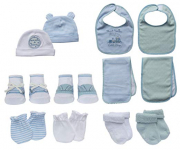 Little Me 13 Piece Take Me Home Set, Blue/White, 0-12 Months $24.99 (REG $49.99)