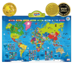 BEST LEARNING i-Poster My World Interactive Map $39.82 (REG $59.99)