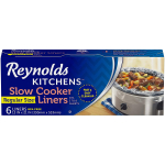 Reynolds Kitchens Slow Cooker Liners $2.98 (REG $4.99)
