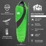 LIGHTNING DEAL!!! TNH Outdoors Sleeping Bag $29.72 (REG $97.97)