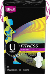 U by Kotex Fitness Ultra Thin Pads with Wings, Regular Absorbency$7.34 (REG $16.41)