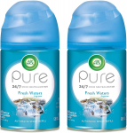 Air Wick Pure Freshmatic 2 Refills Automatic Spray, Fresh Waters, 2ct $7.58 (REG $26.99)