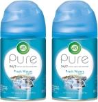 Air Wick Pure Freshmatic 2 Refills Automatic Spray, Fresh Waters, 2ct$7.58 (REG $26.99)