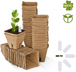 Seed Starter Kit 105 Pack with 105 PC Plant Labels $13.49(55% Off after CODE)