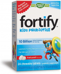 Nature's Way Fortify Kids Probiotic, 10 Billion Live Probiotics, Fruit Punch Flavor $5.00 (REG $23.99)