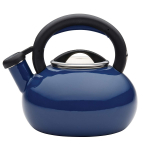1.5-Quart Sunrise Teakettle, Navy Blue $17.99 (REG $40.00)