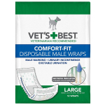 Vet's Best Comfort Fit Disposable Male Dog Diapers $9.59 (REG $16.99)