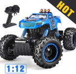 NQD Remote Control Trucks Monster RC Car 1: 12 Scale Off Road Vehicle 2.4Ghz $46.99 (REG $128.98)