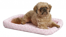 MidWest Deluxe Bolster Pet Bed for Dogs & Cats $10.99 (REG $22.99)