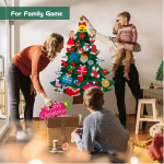 ANMUXI DIY Felt Christmas Tree for Kids, 3.3ft Large Christmas Tree $6.99 (REG $10.99)