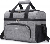 LIGHTNING DEAL!!! Lifewit Collapsible Cooler Bag 32-Can Insulated Leakproof$23.79 (REG $49.99)
