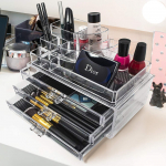 Sorbus Acrylic Cosmetics Makeup and Jewelry Storage Case Display $18.99 (REG $35.99)