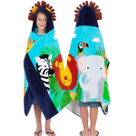 Yayme! Kids Jungle Animal Hooded Towel for Toddlers $29.99 (REG $65.99)