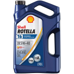 Shell Rotella T6 Full Synthetic 5W-40 Diesel Engine Oil $20.86 (REG $49.41)