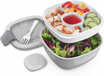 LIGHTNING DEAL!!! Bentgo Salad BPA-Free Lunch Container with Large 54-oz Salad Bowl $12.49 (REG $29.99)