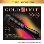 Gold N Hot Professional Ionic Volumizer Dryer and Styler for Textured Hair $17.45 (REG $59.99)