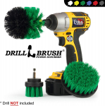 Drillbrush Green Kitchen Cleaning Drill Brushes – Stainless Steel/Copper Sink Cleaner $10.16  (REG $18.95)