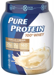 Pure Protein Powder, Whey, High Protein, Low Sugar, Gluten Free, Vanilla Cream $15.46 (REG $22.33)