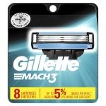 LIMITED TIME DEAL!!! Gillette Mach3 Men's Razor Blades – 8 Refills$12.99 (REG $22.66)