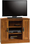 Sauder Harvest Mill Corner Entertainment Stand, For TV's up to 37″, Abbey Oak finish $59.99 (REG $139.99)