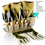 8 Piece Heavy Duty Gardening tools With Storage Organizer $26.99 (REG $49.99)