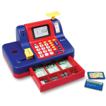 Learning Resources Pretend & Play Teaching Cash Register $29.49 (REG $54.99)