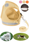 GAUTERF Dog and Cat Universal Harness with Leash Set $12.99 (REG $21.99)
