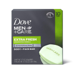 Dove Men+Care Body and Face Bar to Clean and Hydrate Skin Extra Fresh $9.27 (REG $14.99)