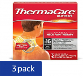 ThermaCare Heatwraps Neck, Shoulder and Wrist, 3 Count (Pack of 3) $16.97 (REG $29.96)