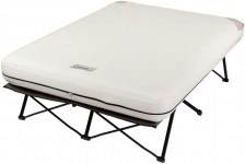 Coleman Camping Cot, Air Mattress, & Pump Combo | Folding Camp Cot and Air Bed $119.99 (REG $199.99)