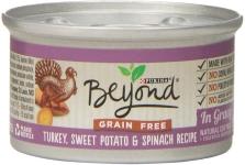 Purina Beyond Grain Free, Natural, Adult Wet Cat Food Twelve (12) 3 Oz. Can $6.00 (REG $14.28)